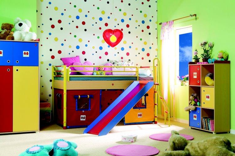 Выбрать детские спальни