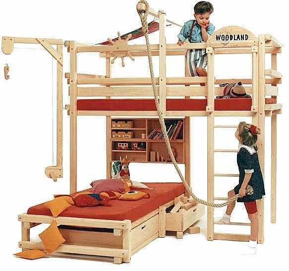 Выбрать кровати для детей