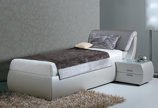 Односпальные кровати — разнообразие цветов и форм