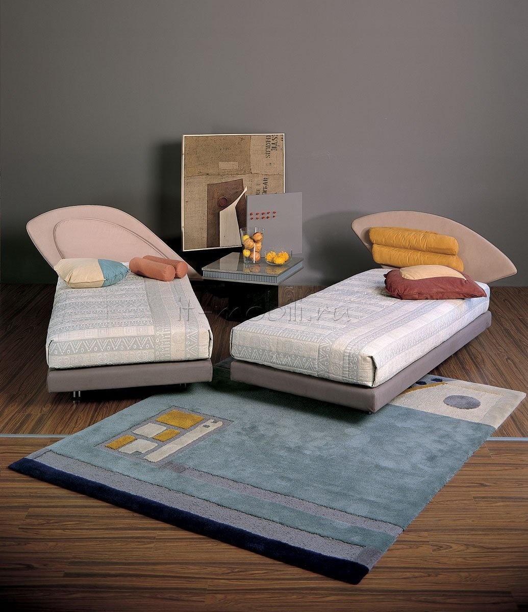 Декоративные изыски односпальных кроватей